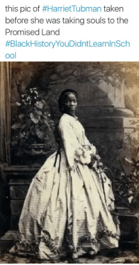 "Africa, Bad, and Beautiful: this pic of #Harriet-Tubman taken  before she was taking souls to the  Promised Land  #BlackHistoryYouDidntLearninSch  ool <p><a href=""http://thepoetzelda.tumblr.com/post/148173231591/proudblackconservative-darkskinprince2"" class=""tumblr_blog"">thepoetzelda</a>:</p><blockquote> <p><a href=""https://proudblackconservative.tumblr.com/post/148172714714/darkskinprince2-hipsandheartbreak"" class=""tumblr_blog"">proudblackconservative</a>:</p>  <blockquote> <p><a class=""tumblr_blog"" href=""http://darkskinprince2.tumblr.com/post/146775231650"">darkskinprince2</a>:</p> <blockquote> <p><a class=""tumblr_blog"" href=""http://hipsandheartbreak.tumblr.com/post/146766835831"">hipsandheartbreak</a>:</p> <blockquote> <p><a class=""tumblr_blog"" href=""http://luvheritage.tumblr.com/post/146744110500"">luvheritage</a>:</p> <blockquote> <p><a class=""tumblr_blog"" href=""http://drwhothefuckyouthinkyoutalkinto.tumblr.com/post/146742195026"">drwhothefuckyouthinkyoutalkinto</a>:</p> <blockquote> <p><a class=""tumblr_blog"" href=""http://yungblackgoddess.tumblr.com/post/146740966324"">yungblackgoddess</a>:</p> <blockquote> <p><a class=""tumblr_blog"" href=""http://blackscreaming.tumblr.com/post/146686778078"">blackscreaming</a>:</p> <blockquote> <p>Still ugly to y'all? 😕🍫💕</p> </blockquote> <p>WOW I've never seen this image</p> </blockquote> <p>^^ yea she is gorgeous but freeing slaves and making all those trips were hard on her. </p> <p>She still beautiful then and before</p> </blockquote> <p>She also suffered head trauma.  Either a slave master or an overseer threw something heavy at her head.</p> </blockquote> <p>they threw a 2lb. weight at her head!!</p> </blockquote> <p>Queen</p> </blockquote> <p>You guys make me sad inside. You are so close and yet so far. Yes, Harriet Tubman was very accomplished, but this is not her picture. This is Lady Sarah Forbes Bonetta Davies (photographed-Camille Silvy,1862) born into a royal West African dynasty, and orphaned in 1848 at five years old when her parents were killed in a slave-hunting war. In 1850, Sarah was taken to England and presented to Queen Victoria, a ""gift"" from the King of Dahomey. She became the ""Queen's Goddaughter"" and a celebrity known for her extraordinary intelligence. She spent her life between the British royal household and in Africa until her death in 1880. Very interesting figure in her own right, but nobody bothered to research that when they could just slap her picture on a post to make a point about Harriet Tubman. Oh and by the way: Sara was originally the slave of an African king, given to Queen Victoria as a gift ""from the king of blacks to the queen of whites"". I bet you ""woke"" people missed that part too.</p> </blockquote>  <a class=""tumblelog"" href=""https://tmblr.co/mZHrjydhp9oUbxMGBDJA8rw"">@proudblackconservative</a> YOU SLAYED</blockquote> <p>Haha thanks! Another interesting note: Captain Frederick E. Forbes of the Royal Navy was the one who convinced King Ghezo to give his slave girl as a gift to Queen Victoria. Now that might sound kind of bad, until you consider the fact that Captain Forbes did this to prevent King Ghezo from using Sara (then known as Aina) as a human sacrifice. All things considered being given to Queen Victoria was probably the better option, especially considering that the Queen liked her so much she basically adopted her and raised her in the British middle class.</p><p>Sadly, Sara did die in her late 30s from tuberculosis, after suffering from a bad cough throughout her childhood – likely caused by the difference in climate from England to Africa. She did go to school in Africa at first, but did not like it and elected to return to England.</p><p>The more you know!</p>"