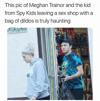 Confused, Everybody Hates Chris, and Sex: This pic of Meghan Trainor and the kid  from Spy Kids leaving a sex shop with a  bag of dildos is truly haunting  98  43 The house in everybody hates Chris confused me bc it's like a apartment but all the rooms in different the parts of the apartment behind different doors but the top room is an apartment idek how to describe it but I'm confused.