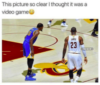 Still not sure if 2K...: This picture so clear I thought it was a  video game  AMES  23  OHBAMEMES Still not sure if 2K...