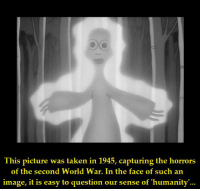 https://t.co/AGwxmBjWKm: This picture was taken in 1945, capturing the horrors  of the second World War. In the face of such an  image, it is easy to question our sense of 'humanity'... https://t.co/AGwxmBjWKm
