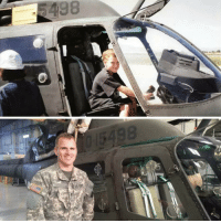 Army, Been, and Him: This pilot found out that the OH58 Kiowa helicopter hed been flying was the very same aircraft which made him want to become an army pilot in the first place