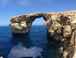Today, Sad, and Malta: This place has collapsed today due to natural erosion. So sad.. Azure Window, Malta