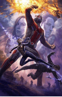 This poster for Ant-Man & The Wasp has us pretty freakin' stoked.: This poster for Ant-Man & The Wasp has us pretty freakin' stoked.