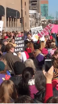 St.Louis Women's March: THIS  RABS 1  BACK St.Louis Women's March