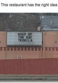 Memes, Restaurant, and Idea: This restaurant has the right idea  THE DAY  EQUITA 36 Random Memes You Should Check Out If You Have Nothing Better To Do Right Now