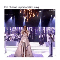 Did she kill this Rihanna impersonation? 🤔 (via @rihelite) WSHH: this rihanna impersonation omg  RIHELITE Did she kill this Rihanna impersonation? 🤔 (via @rihelite) WSHH