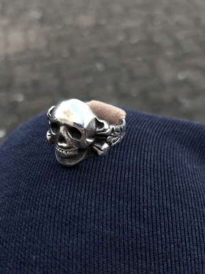 This ring was given to me by Johnny Depp. He used a band aid to make it tighter.: This ring was given to me by Johnny Depp. He used a band aid to make it tighter.