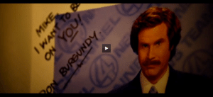 This Ron Burgundy autograph in Lone Survivor proves that the movie takes place in the same fictional universe as Anchorman: This Ron Burgundy autograph in Lone Survivor proves that the movie takes place in the same fictional universe as Anchorman