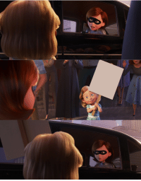 Meme, The Incredibles, and Incredibles 2