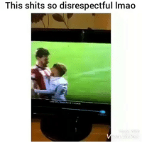 Lmao, Memes, and Girlfriend: This shits so disrespectful lmao This is what I do to my girlfriend, right after I tell her to calm down.