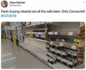 This should go without saying, but Corona beer does not transmit coronavirus, people. #Memes #Twitter #Coronavirus #Alcohol #Corona #Beer #Facepalm: This should go without saying, but Corona beer does not transmit coronavirus, people. #Memes #Twitter #Coronavirus #Alcohol #Corona #Beer #Facepalm