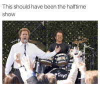 I was fine with the half time show but ratings would have exploded if this was it: This should have been the halftime  show I was fine with the half time show but ratings would have exploded if this was it