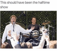 Fuckin Catalina wine mixer: This should have been the halftime  show  Tow Fuckin Catalina wine mixer