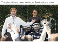When will the NFL learn: This should have been the Super Bowl halftime show  @NFL MEMIES  Tow When will the NFL learn