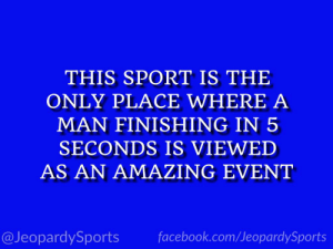 """What is: UFC?"" #JeopardySports #UFC239 https://t.co/jvm8nMux8k: THIS SPORT IS THE  ONLY PLACE WHERE A  MAN FINISHING IN 5  SECONDS IS VIEWED  AS AN AMAZING EVENT  facebook.com/JeopardySports  @JeopardySports ""What is: UFC?"" #JeopardySports #UFC239 https://t.co/jvm8nMux8k"