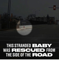 Dank, Milwaukee, and The Road: THIS STRANDEDBABY  WAS RESCUED FROM  THE SIDE OF THE ROAD She's now received an award for what she did. 👏  Milwaukee County Transit System