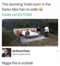 yo i dont fw ebola but Akon has to be one of my favorite artists from childhood n all: This stunning 'hotel room' in the  Swiss Alps has no walls  insder.co/2r57XXM  BrilliantVillain  @IntergalacticQ  Nigga this is outside yo i dont fw ebola but Akon has to be one of my favorite artists from childhood n all