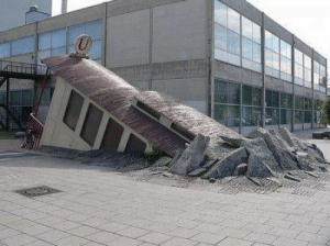 Subway, This, and Entrance: This subway entrance in Frankfurt