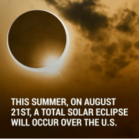 """This will be the most photographed, the most shared, the most tweeted event in human history."" Total Eclipse 2017 Image credit: @nasa: THIS SUMMER, ON AUGUST  21ST A TOTAL SOLAR ECLIPSE  WILL OCCUR OVER THE U.S. ""This will be the most photographed, the most shared, the most tweeted event in human history."" Total Eclipse 2017 Image credit: @nasa"