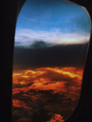 This sunset effect makes it looks like Heaven and Hell: This sunset effect makes it looks like Heaven and Hell