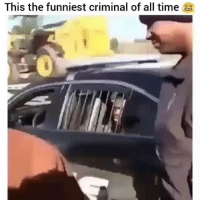 HE'S GOT JOKES 😭😂😂 →DM & TAG this to 15 friends for a shoutout😂: This the funniest criminal of all time HE'S GOT JOKES 😭😂😂 →DM & TAG this to 15 friends for a shoutout😂