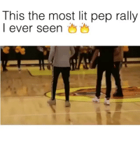 Lit, Memes, and 🤖: This the most lit pep rally  I ever seen Still litty 💯🔥🔥 @shmateo_ @ogleloo @freakyday_