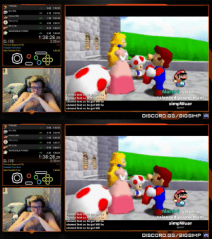 this the most wholesome thing i've ever seen  he just broke the super mario 64 world record https://t.co/l83fwmnpXJ: this the most wholesome thing i've ever seen  he just broke the super mario 64 world record https://t.co/l83fwmnpXJ
