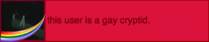 Trash, Tumblr, and Blog: this user is a gay cryptid. cryptid-coyote:@gay-trash-can1