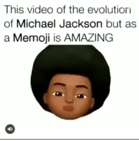 Michael Jackson: This video of the evolutior  of Michael Jackson but as  a Memoji is AMAZING  eD