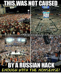 Russian Hacking: THIS WAS,NOT CAUSED  TRUMP  Dallas  OUSAFORTRUMP  BY A RUSSIAN HACK  ENOUGH WITH THE NONSENSE!