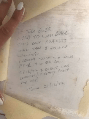 This was posted in one of the DIY groups I'm in. Good guy Jon from the 90s saves another pissed off renovator.: This was posted in one of the DIY groups I'm in. Good guy Jon from the 90s saves another pissed off renovator.