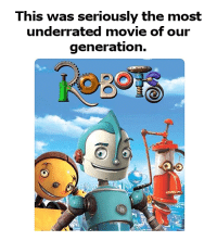 Memes, Movie, and 🤖: This was seriously the most  underrated movie of our  generation. Who agrees?