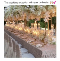 Girl, Wedding, and Will: This wedding reception will never be beaten  oje It's okay I guess 🙄