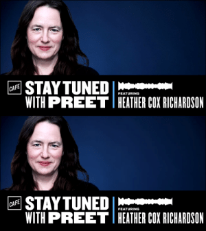 """This week on Stay Tuned with @PreetBharara, @BostonCollege History Professor and """"Letters from an American"""" writer @HC_Richardson discusses the legacy of the GOP and its continued attempts to take credit for ending slavery: https://t.co/CZStpmCZpg https://t.co/bHk4DWhRO9: This week on Stay Tuned with @PreetBharara, @BostonCollege History Professor and """"Letters from an American"""" writer @HC_Richardson discusses the legacy of the GOP and its continued attempts to take credit for ending slavery: https://t.co/CZStpmCZpg https://t.co/bHk4DWhRO9"""