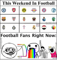 Memes, 🤖, and Scp: This Weekend In Football  RB  SCP  Football Fans Right Now: Can't Wait! 😵😍 🔻CHECK OUT PREVIOUS POST. HUGE GIVEAWAY! 💥