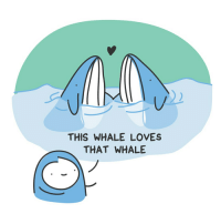 Memes, Kale, and 🤖: THIS WHALE LOVES  THAT WHALE This kale loves that kale (they just don't know it yet). loveislove🌈 BarelyFunctionalAdult