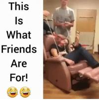 Friends, Funny, and Lmao: This  What  Friends  Are  For! Lmao wtf clip of the day