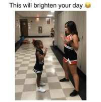 Memes, Girl, and 🤖: This will brighten your day The little girl killed it! Credit: @official.anaisha