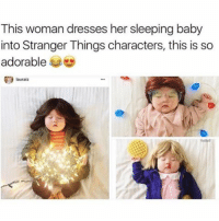 if i got $2 from every follower i have i'd be able to buy the tesla.....i want donate to me just kidding - follow my personal @fml_jade • • { tumblr tumblrpost tumblrtextpost funny tumblrfunny funnytumblr comedy weird memes relatable af fandoms instagood follow cute love bill_wi_the: This woman dresses her sleeping baby  into Stranger Things characters, this is so  adorable  lauraiz if i got $2 from every follower i have i'd be able to buy the tesla.....i want donate to me just kidding - follow my personal @fml_jade • • { tumblr tumblrpost tumblrtextpost funny tumblrfunny funnytumblr comedy weird memes relatable af fandoms instagood follow cute love bill_wi_the