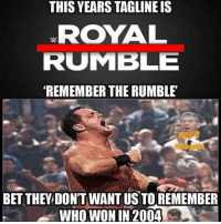 Everyone clearly knows Vacant won the 2004 Royal Rumble chrisbenoit benoit krisbenwah cripplercrossface thecripplercrossface divingheadbutt crossface thecrossface royalrumble theroyalrumble battleroyal wweroyalrumble wwerr wwe worldwrestlingentertainment thewwe prowrestling wrestling professionalwrestling likeforlike like4like followforspam followforlikes spamforspam spam4spam: THIS YEARS TAGLINEIS  ROYAL  RUMBLE  REMEMBER THE RUMBLE  BET THEY DONTWANTUS TO REMEMBER  WHO WON IN 2004 Everyone clearly knows Vacant won the 2004 Royal Rumble chrisbenoit benoit krisbenwah cripplercrossface thecripplercrossface divingheadbutt crossface thecrossface royalrumble theroyalrumble battleroyal wweroyalrumble wwerr wwe worldwrestlingentertainment thewwe prowrestling wrestling professionalwrestling likeforlike like4like followforspam followforlikes spamforspam spam4spam