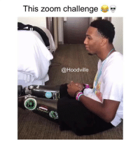 "Memes, Zoom, and 🤖: This zoom challenge  ""  @Hoodville Ooo naa! I wasn't ready 💀💀💀💀"