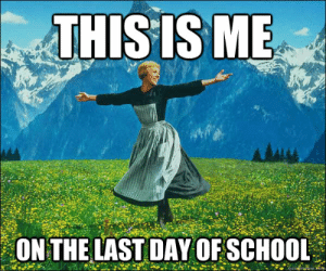 20 Best Memes About The Last Day Of School | SayingImages.com: THISIS ME  ON THE LAST DAY OF SCHOOL  quiekinemerom 20 Best Memes About The Last Day Of School | SayingImages.com