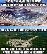 Memes, Politics, and Army: THISISA MINEWHERE LITHIUM IS  EXTRACTED FOR ELECTRIC CAR BATTERIES  THISISANOILSANDS SITE INALBERTA  TELL ME MORE ABOUTHOW YOUR ELECTRIC  CAR IS BETTER FOR THE ENVIRONMENT ----------------- Proud Partners 🗽🇺🇸: ★ @conservative.american 🇺🇸 ★ @raised_right_ 🇺🇸 ★ @conservativemovement 🇺🇸 ★ @millennial_republicans🇺🇸 ★ @the.conservative.patriot 🇺🇸 ★ @conservative.female🇺🇸 ★ @conservative.patriot🇺🇸 ★ @brunetteandpolitical 🇺🇸 ★ @the.proud.republican 🇺🇸 ★ @emmarcapps 🇺🇸 ----------------- bluelivesmatter backtheblue whitehouse politics lawandorder conservative patriot republican goverment capitalism usa ronaldreagan trump merica presidenttrump makeamericagreatagain trumptrain trumppence2016 americafirst immigration maga army navy marines airforce coastguard military armedforces ----------------- The Conservative Nation does not own any of the pictures or memes posted. We try our best to give credit to the picture's rightful owner.