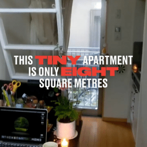 Dank, Too Much, and Square: THISTINYAPARTMENT  IS ONLY T  SQUARE METRES This woman takes you on a very brief tour of her tiny Tokyo apartment, and frankly, I think she's paying just a bit too much   Tokidoki Traveller