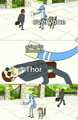Thor, Thought, and Just: Thor Just thought of it