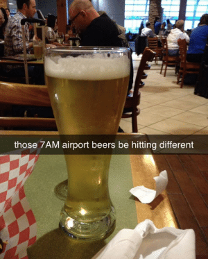 Hits your bank account different too. https://t.co/I34WmfVPYe: those 7AM airport beers be hitting different Hits your bank account different too. https://t.co/I34WmfVPYe