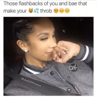 Those flashbacks of you and bae that  make your  throb  @Just vicious @just2vicious you're so damn nasty. I like that. 😂😂😂😂😂 bae flashbacks Love romance relationships repost