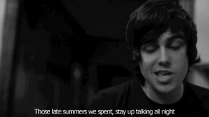 https://iglovequotes.net/: Those late summers we spent, stay up talking all night https://iglovequotes.net/