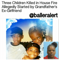 """Memes, Slaine, and 🤖: Three Children Killed in House Fire  Allegedly Started by Grandfather's  Ex-Girlfriend  @baller alert Three Children Killed in House Fire Allegedly Started by Grandfather's Ex-Girlfriend -blogged by @MsJennyb ⠀⠀⠀⠀⠀⠀⠀- ⠀⠀⠀⠀⠀⠀⠀ Arcadia police are investigating the murder of three young children, who died in a fire over the weekend at their grandfather's home. ⠀⠀⠀⠀⠀⠀⠀ ⠀⠀⠀⠀⠀⠀⠀ The blaze is believed to have been started by 49-year-old Marian Evette Williams, an ex-girlfriend of the slain children's grandfather. ⠀⠀⠀⠀⠀⠀⠀ ⠀⠀⠀⠀⠀⠀⠀ According to reports, one day before the blaze broke out, Williams was arrested for allegedly breaking into the grandfather's home and attacking him. She was released on bond shortly afterwards. ⠀⠀⠀⠀⠀⠀⠀ ⠀⠀⠀⠀⠀⠀⠀ The next day (March 11) around 4:30 am in Arcadia, Florida, the fatal fire broke out with the grandfather and the children, Marcus 10, Kiani, 8, and Kemaren Clark, 4, inside, killing all three kids. The grandfather was left with serious conditions and transported to a local hospital, where he remains. PEOPLE reports that another women was inside at the time of the fire, but was able to get out without being injured. ⠀⠀⠀⠀⠀⠀⠀ ⠀⠀⠀⠀⠀⠀⠀ """"Our children are supposed to bury us, we ain't supposed to bury our children,"""" the children's uncle said. """"Them three boys as a unit, they stuck together,"""" he added. """"They stuck together."""" ⠀⠀⠀⠀⠀⠀⠀ ⠀⠀⠀⠀⠀⠀⠀ """"She has children, probably has grandchildren and great-grandchildren, how can you do that?"""" he said of Williams' alleged actions. """"Does she want that done to her children or grandchildren?"""" ⠀⠀⠀⠀⠀⠀⠀ ⠀⠀⠀⠀⠀⠀⠀ Williams was arrested and accused of first-degree murder, attempted murder, and arson. She remains in custody without bond and is set to appear in court next month."""