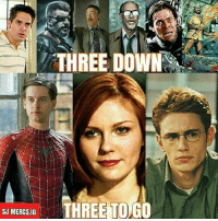 Batman, James Franco, and Joker: THREE DOWN  SU MER6S.0O THREE TO GO  SJ MERCS.IG James Franco for Booster Gold would be great! And Tobey should play as genius villain in DCEU. Just my opinion. Batman Superman WonderWoman TheFlash GreenLantern Aquaman Cyborg MartianManhunter Shazam GreenArrow BlackCanary Mera Darkseid SteppenWolf LexLuthor SuicideSquad Deadshot Joker HarleyQuinn Deathstroke JusticeLeague DCEU Nightwing RedHood Spiderman Marvel Deadpool